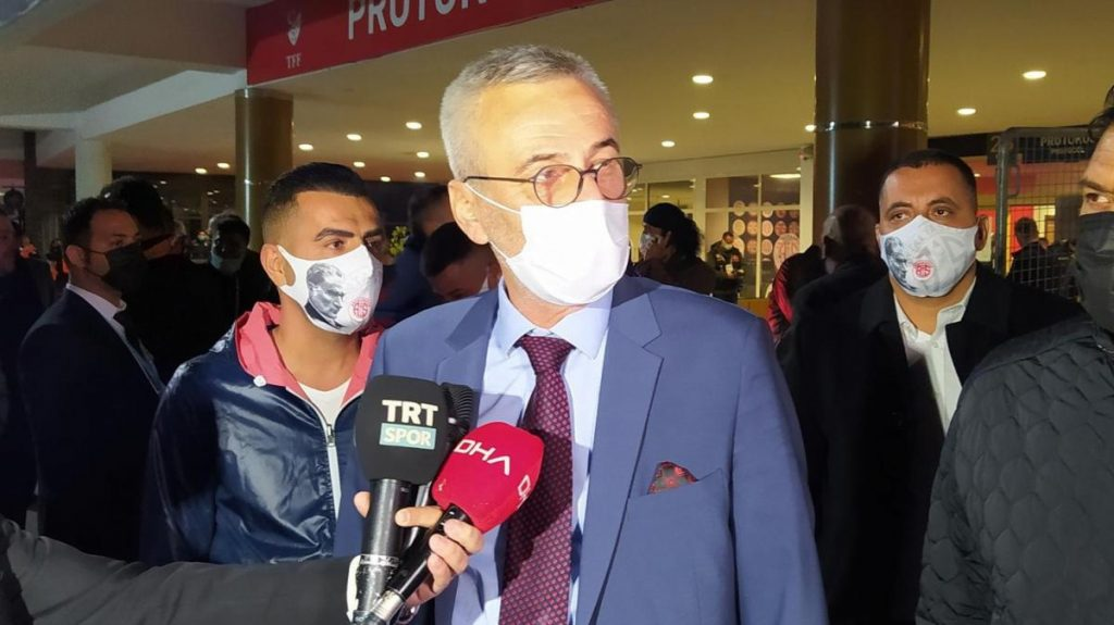 Antalyaspor Başkanı Mustafa Yılmaz: Türkiye Kupası'nı alacağımıza inanıyoruz