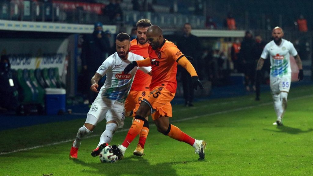 Galatasaray: 26 – Rizespor: 6