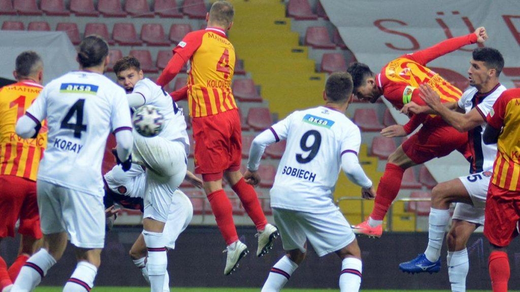 Karagümrük, Kayserispor maçında tam kadro